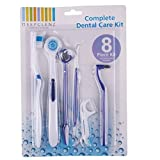 8 Pcs Dental Oral Care Dentist Pick Tooth Mirror Teeth Toothbrush Set Tools
