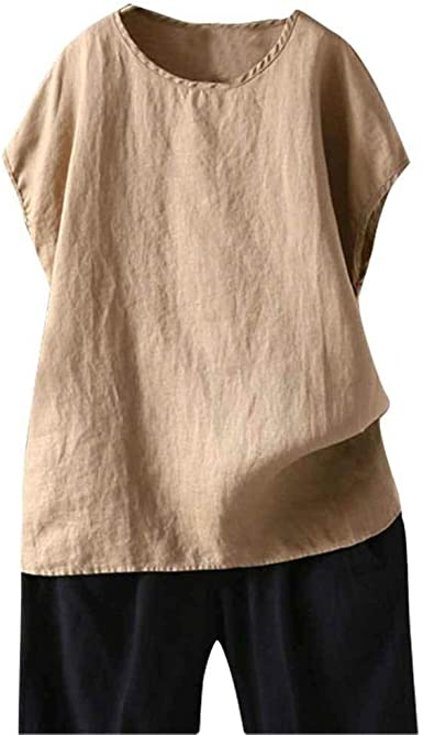 Camisetas De Mujer Camisa Manga Corta T-Shirts Camisas Algodón Y ...