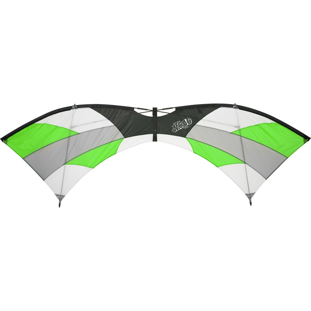 Hq Kites And Designs Mojo Jungle Quad Line Sport Kite B004T1QN70 ジャングル