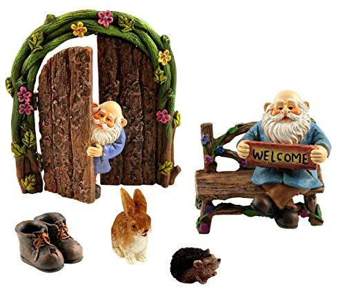 Pretmanns Miniature Gnomes Fairy Garden