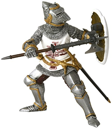 Papo Germanic Knight Figure, Multicolor
