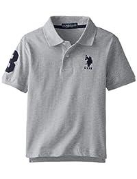 U.S. Polo Assn. Short Sleeve Solid Pique Polo