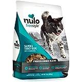 Nulo Freeze Dried Dog Food: Freestyle Freeze-Dried Raw Dog Food - Natural Grain Free Formula with GanedenBC30 Probiotics for Digestive & Immune Health - Salmon & Turkey with Strawberries - 13 oz Bag