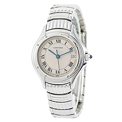 Cartier Cougar Quartz Female Watch 1215/1 (Certified Pre-Owned) from Cartier