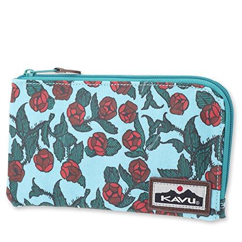 KAVU Cammi Clutch, Red Rose, One Size