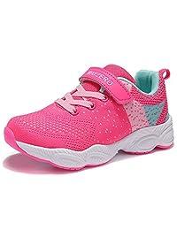 Bling Bo Kids Lightweight Breathable Running Sneakers Easy Walk Sport Casual Shoes for Boys Girls(Toddler/Little Kid/Big Kid)