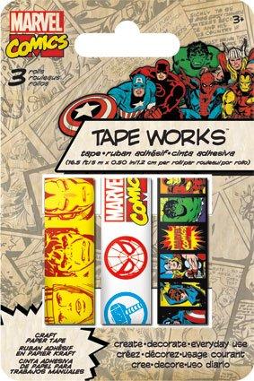 (Sandylion Marvel Classic 3 Pack Decorative Washi)