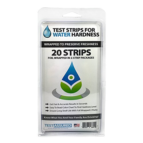 (Water Hardness Test Strips - Wrapped In Foil Packs To Preserve Freshness Tests In Seconds)
