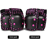 Dark Lighting Knee Pads and Elbow Pads