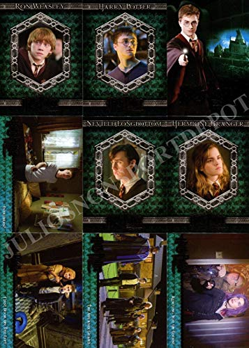 HARRY POTTER AND THE ORDER OF THE PHOENIX MOVIE 2007 ARTBOX BASE CARD SET OF 90