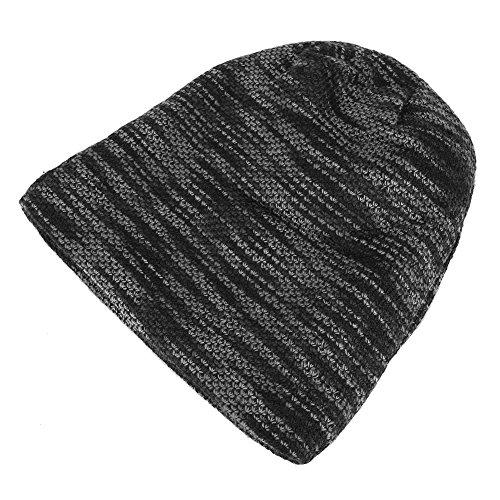 Otoño Lana Invierno Sombreros de de Son de Los Son Moda y Los e novedosos Opcionales y Están Fríos 3 Cálidos Colores Gris pIYxqn
