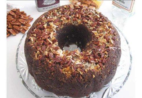 German Chocolate with Caramel Vodka Cake, German Chocolate Cake
