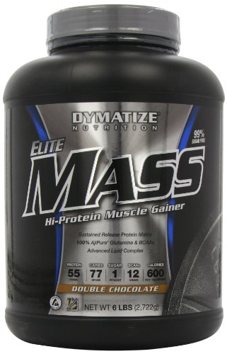 Dymatize Nutrition Elite Mass Gainer, double chocolat, 6-Pound