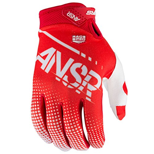 Answer Racing A17.5 Syncron Air Boys MotoX Motorcycle Gloves - Red/White / - Glove Red Syncron