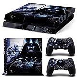 Ps4 Playstation 4 Console Skin Decal Sticker Star Wars Darth Vader Battlefront + 2 Controller Skins Set