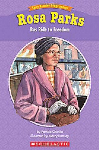 Easy Reader Biographies Rosa Parks Bus Ride To Freedom