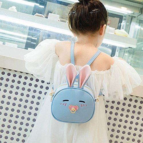 Bag Dog Bag Groomy Shoulder Girl Cute Bags Backpack Beige Rabbit Blue Light Cute with Kids ArnZn8