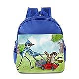Toddler Kids Regular Show School Backpack Cartoon Baby Boys Girls School Bag RoyalBlue