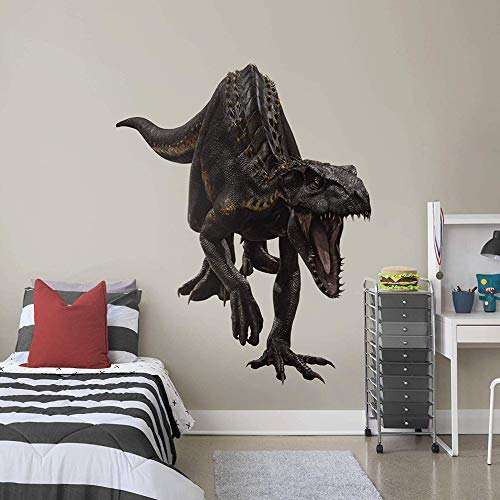 FATHEAD Indo Raptor - Jurassic World: Fallen Kingdom - Huge Officially Licensed Removable Wall Decal