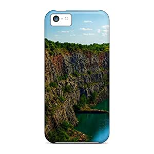 Hot ULM10314kxpE Marvelous Swimming Hole In Morina Czech Republic Tpu Case Cover Compatible With Iphone 5c
