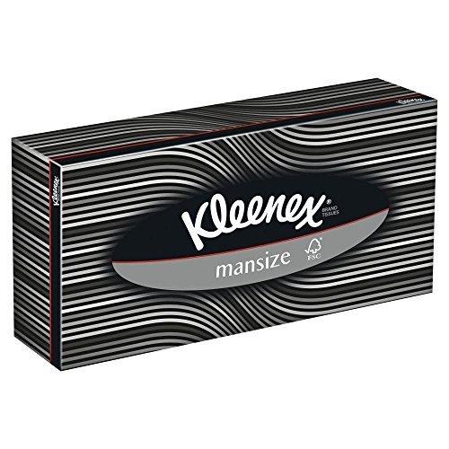 Kleenex Mansize Facial Tissues (100) - Pack of 6