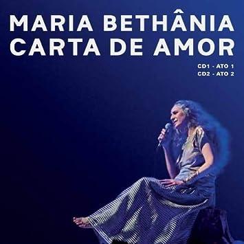 Carta De Amor: Maria Bethânia: Amazon.es: Música