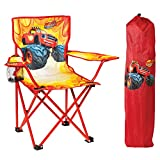 Nickelodeon Blaze and The Monster Machines Fold N' Go Chair with Storage Bag, Red