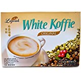 Kopi Luwak White Koffie Premium 5-ct, 100 Gram/3.5 Oz (Pack of 2)