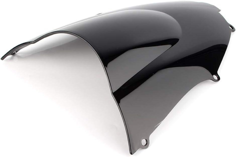 Silber GZYF Motorrad Windschutzscheibe Windschutzscheibe Kompatibel mit Kawasaki ZX9R ZX 9R 2000-2003