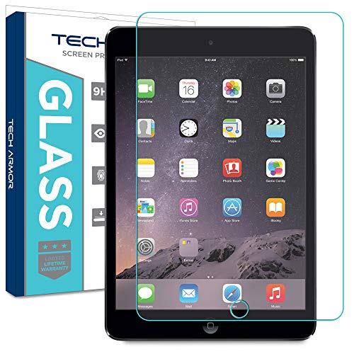 Tech Armor Blue Light Filter Ballistic Glass Retinashield Screen Protector For Apple Ipad Air Air 2 Ipad 9 7 2017 1 Pack
