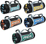 RDX Sandbag Weight Training Power Bag with Handles & Zipper   Weight Adjustable Fitness Powerbag, Weight Lifting, Running, Exercise, Powerlifting and Functional Workout