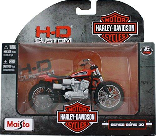 Maisto 1972 XR750 Racing Bike Harley Davidson Die-Cast Motorcycle 1:18 (Bike Diecast Motorcycle)