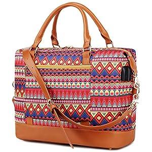 Borsone da viaggio weekend Borsa da palestra handbag Tote da borsa sportiva con porta USB Borsa tote per laptop comoda… 3 spesavip