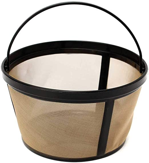 GoldTone Reusable 8-12 Cup Basket Coffee Filter for Proctor Silex Coffee Makers