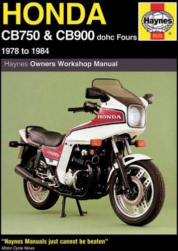 - Honda CB750 and CB900 dohc Fours Haynes Repair Manual (1978 - 1984)