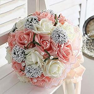 Balalei Bridal Hands Bouquet Wedding Gossamer Hand Bouquet Simulation Flowers Ball Photography Wedding Flowers 17