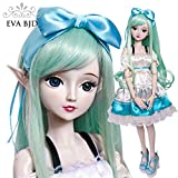 1/3 BJD SD Doll Spirit Demon Girl 24'' 60cm 19 jointed dolls Valentine's Gift Toy