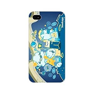 Space Kitty Doodle Monster Hard Back Case Cover For Apple iPhone 4 4S