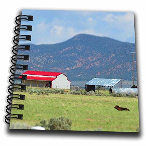 Miniature Notepad (3dRose Jos Fauxtographee- Miniature Barn - A barn in Enterprise Utah made to look Miniature - Mini Notepad 4 x 4 inch (db_263331_3))