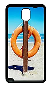 Note 3 Case, Galaxy Note 3 Case, [Perfect Fit] Soft TPU Crystal Clear [Scratch Resistant] Lifesaver Cute Back Case Cover for Samsung Galaxy Note 3 N9000 Cases