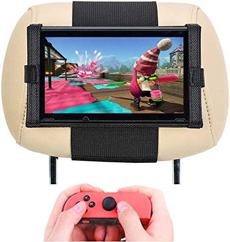 Soporte para Nintendo Switch –Soporte para Reposacabezas del Coche ...