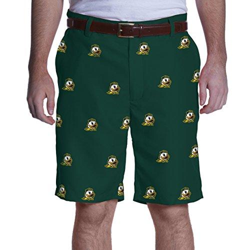 Ovation NCAA Adult Men's Game Changer Shorts, Oregon Ducks, 38, Green (Mens Shorts Oregon)