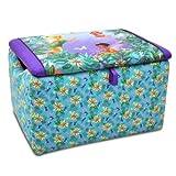 Disney Fairies Upholstered Storage Box (blues/purple) (16