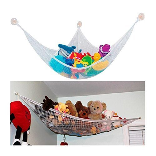 ilovebaby Toy Organizer - Extra Large Jumbo Toy Hammock - Best Home (Stuffed Animal Hammocks)
