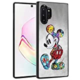 DISNEY COLLECTION Case for Samsung Galaxy Note 10 Plus/Samsung Galaxy Note 10 Plus 5G (6.8 inch) TPU+PC Mickey Mouse Cartoon Cute Rub Slip Shock Proof Protective Cover