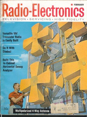 - RADIO-ELECTRONICS Vhf Transistor Radio Diodes Horizontal Sweep Analyzer 2 1961