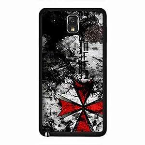 Resident Evil Samsung Galaxy Note 3, Resident Evil Hard Plastic Black Cover, Resident Evil Phone Custodia