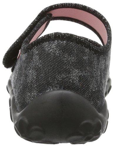 Superfit Bonny 20028100 Mädchen Hausschuhe Schwarz (schwarz 00)