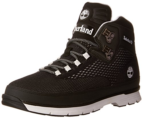 Hiker Euro Spacer Timberland Black Mid Footwear A1AAE Boot EpqxZS7zn