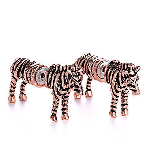 Zebra Earrings (Tabwing Fashion Zebra Stud Earrings)